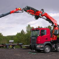 FASSI Truck Crane F990