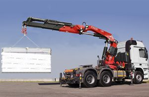 FASSI Truck Crane f820