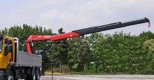 FASSO Grue Camion F255 Crane